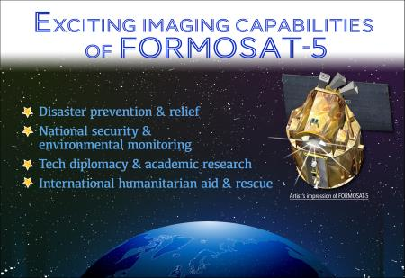 Exciting imaging capabilities of FORMOSAT-5