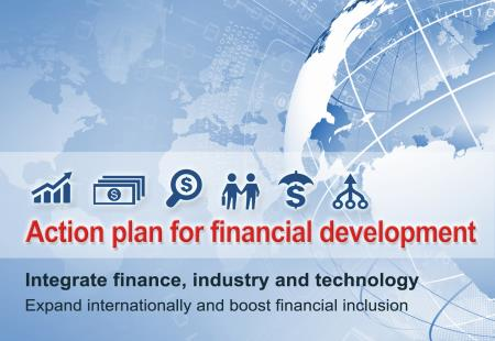 Action plan for financial development