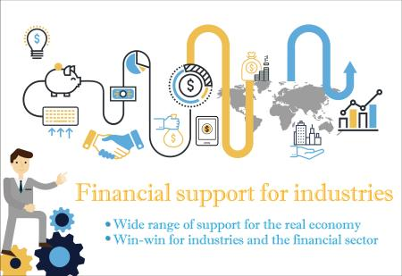 Financial sector support for the real economy